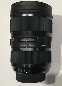 Sigma 24-35mm f/2 DG HSM Art Camera Lens for Nikon Mint - As New