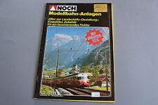 X274 NOCH Train maquette catalogue Ho N ZModellbahn Anlagen mit Neuheiten 1979
