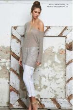 Herbst 3/4 Arm Damen-Pullover & -Strickware ohne Muster