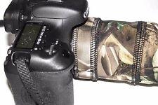 Canon 1.4 o 2X extensor cubierta de neopreno Camo. tu eliges