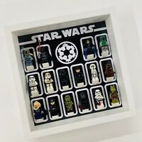 Display Frame for Lego Star Wars Galactic Empire minifigures no figures 27cm