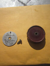 COLEMAN GAS LANTERN & STOVE PART.  RED VALVE WHEEL, DIRECTION DISK AND SCREW.