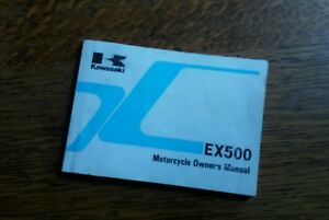 KAWASAKI  EX 509 D5 OWNERS MANUAL / HANDBOOK / BOOKLET