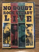No Doubt Rock Steady Live (DVD) Brand New Sealed