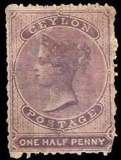 Ceylon Scott 45 1/2d QV.