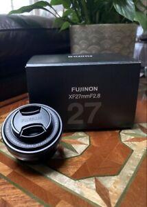 Fujifilm XF 27mm pancake f2.8 Lens