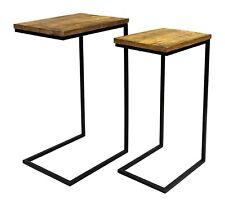 Beistelltisch Couchtisch Mangoholz Sofatisch eckig Tisch Holz Mango Industrie