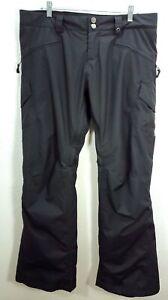 Women's Burton Dryride Black Snowboard Pants Size XXL 2XL