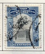Peru 1905-21 Early Issue Fine Used 5c. 182289