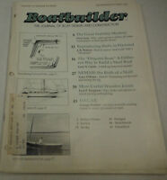 Boatbuilder Magazine The Great Stability Mystery September/October 1987 072814R