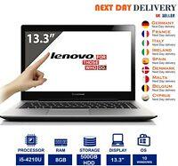 "Lenovo U330 13.3"" Touchscreen Laptop Intel i5 4th-Gen 8GB RAM 500GB HDD Win 10"
