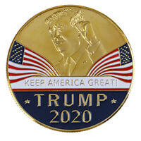 US President Trump 2020 Speech Crafts Metal Commemorative Coin Medal Collection
