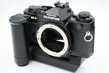 Olympus Om-4 35mm Slr Camera Body Black with Winder 2 from Japan