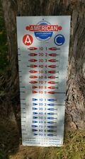American Shuffleboard Company Score Board Metal Union City NJ Vintage 1950s
