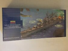 Lindberg U.S.S. Manchester Light Cruiser 1/600 Scale Model New & Sealed