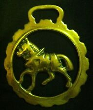 Vintage Trotting Harness Horse In Dog Toothed Frame Horse Brass Wow Your Walls!