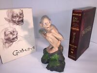 "Rare Authentic SideShow Weta Art Collectible Gollum Sméagol 7"" Figurine Statue"