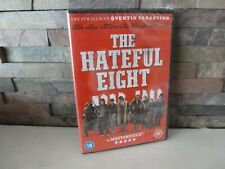 new/sealed THE HATEFUL EIGHT DVD UK.   FAST/FREE POSTING