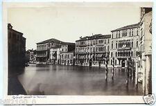 XIX é . Italie . Italia . photo ancienne . Venise . le grand Canal