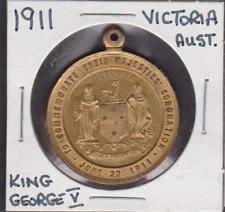 1911 Victoria,Australia King George V Coronation Medal