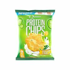 Quest Nutrition Protein Chips Sour Cream & Onion 21g Protein 3g Net Carbs 130...
