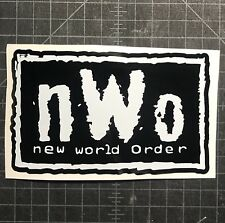 NWO Vinyl Decal Cliq WWE WCW Wolfpack New World Order Car Truck Laptop Sticker