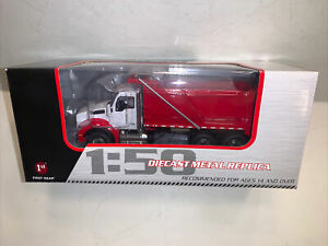 Kenworth T880 Dump Truck Red/White First Gear 1:50 scale
