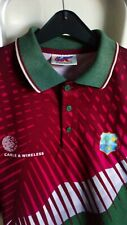 More details for west indies cricket shirt vintage 1990s/2000s size xl