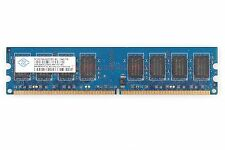 Nanya RAM 2GB DDR2 2RX8 800MHz PC2-6400U CL6 DIMM RAM intel CPU Desktop Memory