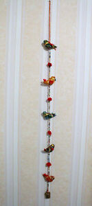 Birds Multi - Colourful Wall Hangings Decoration Indian Handmade Home Decor