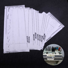 15pcs Pre Punched Card Kit Set for Brother KH260 Knitting Needlework Machine