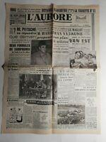 N410 La Une Du Journal L'aurore 17 juillet 1951 les montres dermont