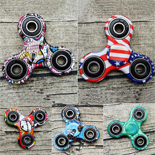 2017 Camouflage Tri-Spinner Fidget Stress Relieve Focus Toy EDC Hand Finger Spin
