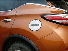 Fuel Gasoline Tank Gas Cap Cover Trim For 2015-2017 Nissan Murano Black Words
