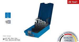 KARNASCH HSS-XE Stahl Kegelsenker Set DIN 335 Form C 90°, 3-Flächenschaft