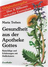 GESUNDHEIT AUS DER APOTHEKE GOTTES - Maria Treben BUCH - NEU