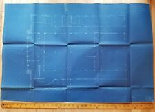 1909 blueprint for historic Seattle Union Train Station! Rr architecture history