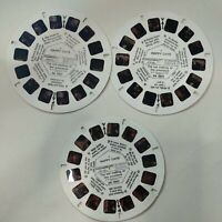 Viewmaster 3 Reels Happy Days + The Fonz 42 3D photos from 1970s Tv Show 1-21