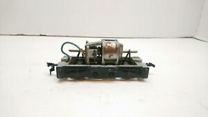 Athearn HO Train Blk Hustler Diesel Locomotive Replacement Chassis w/ New Bands