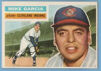 1956 Topps #210 Mike Garcia EX-MT Cleveland Indians