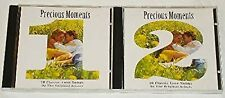 Precious Moments Volumes 1 and 2, Various, Used; Good CD