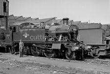 Larger Railway Negative: 'Prairie' 5153 at Swindon, Date Unknown           7/894