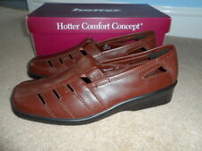 Hotter 100% Leather Mary Janes Shoes for Women