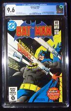 Batman #343 (1982) CGC 9.6...1st Dagger (David Rennington) Ra's al Ghul recruit