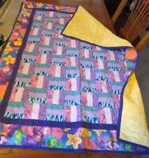 Handmade Sea Life Unisex Crib Quilts & Coverlets
