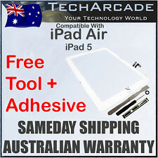 iPad Air White 3G 4G Wifi Touch Screen Panel Glass Digitizer Tools Adhesive 5