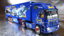 * Herpa 120883 MB Actros Semitrailer 50th Anniversary of Revell 1:87 HO Scale