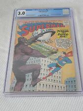 DC SUPERMAN 138 CGC 3.0 1960