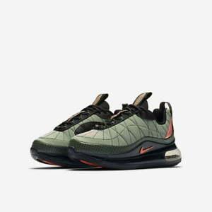 Kids Nike MX-720-818 (GS) Trainers CD4392 300 Green/Black Size UK 1.5 EU 33.5