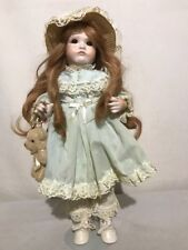 """Vintage All Bisque 18"""" Ges. Gesch 1070 Toddler Doll Jdk Open Mouth Two Teeth Hil"""